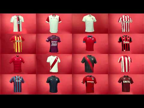 What Colour Is Love? Umbro's Football Shirts Around The World