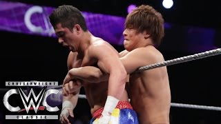 Kota Ibushi vs. T.J. Perkins - Semifinal Match: Cruiserweight Classic Live Finale on WWE Network