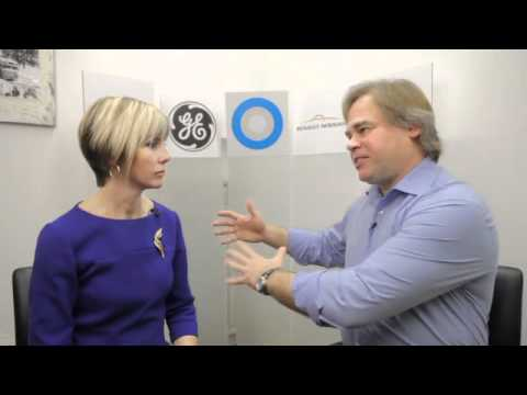 Kaspersky CEO Eugene Kaspersky speaks with Edie Lush at Hub Davos