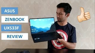 Asus Zenbook 15 UX533F Unboxing & Review in Hindi