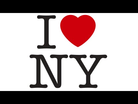 New York combined the Amazon logo and its iconic I Love