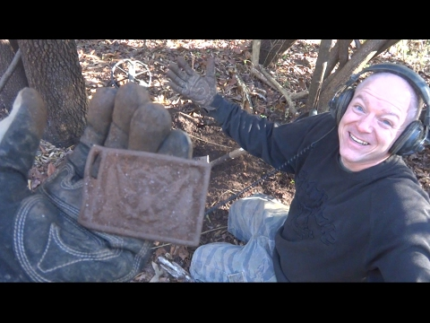 You Won't Believe What These Guys Find In The Middle Of The Woods Metal Detecting.