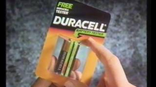 Duracell Battery tester Advert 1991 (OLD Adverts)