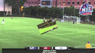 NJIT Men's Soccer Highlights vs LIU Brooklyn