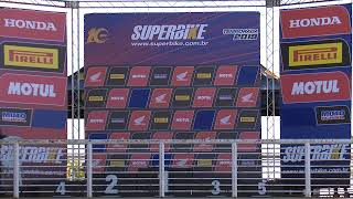SBK 2019 4ª Etapa Goiania-GO - SuperBike - Corrida na íntegra