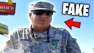 Top 5 FAKE SOLDIERS EXPOSED on CAMERA! (Stolen Valor, Fake Veterans, Caught On Camera)