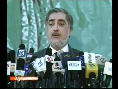 Afghan News: Dr. Abdullah Abdullah