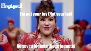 Netta - TOY(LYRICS ENGLISH AND SPANISH|Letra en Ingles y Español