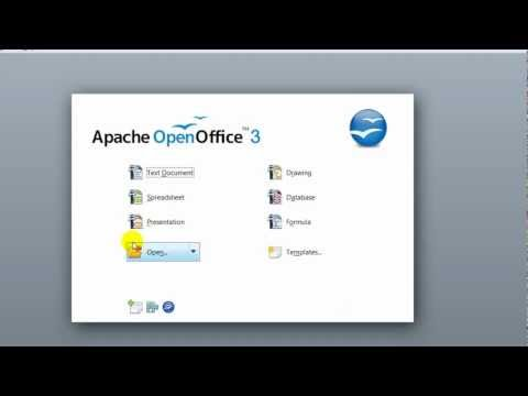 How To Download and Install Apache Open Office 3.4.1