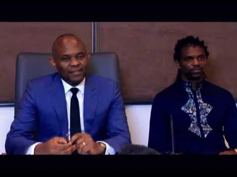 My Journey Interview with Tony Elumelu and surprise guest, Kanu Nwankwo