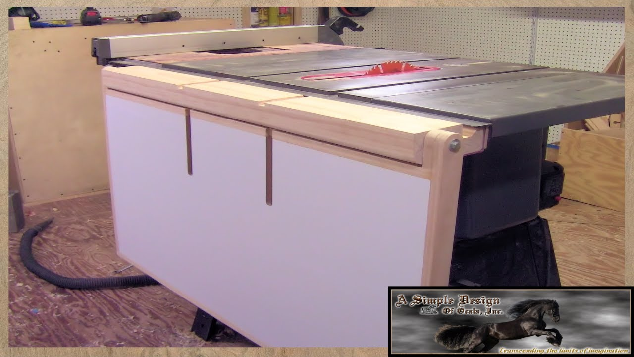 Image Result For Craftsman Table Saw Extension
