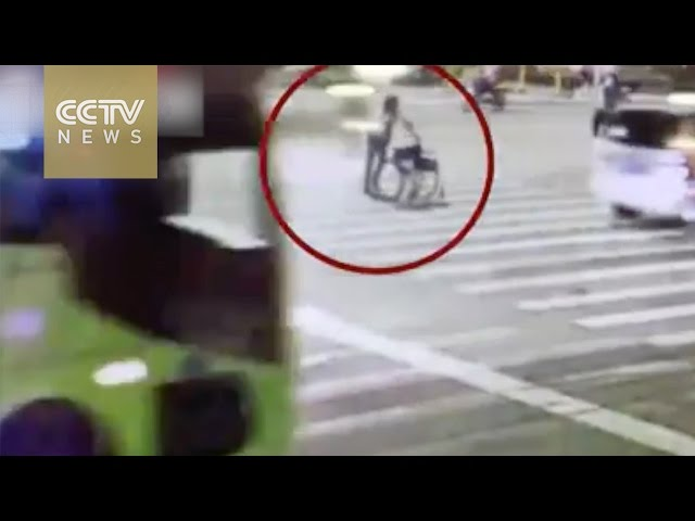 'Disabled' man spotted carrying wheelchair after 'accident'