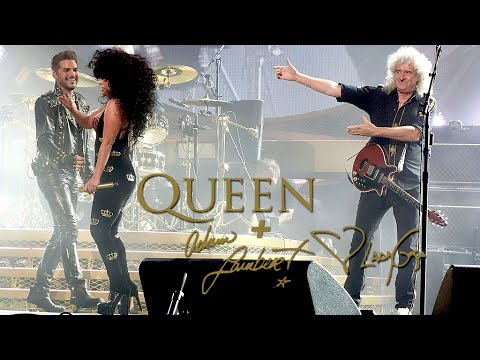 Queen + Adam Lambert & Lady Gaga - Another One Bites The Dust in Sydney day 2 (27/08/2014)