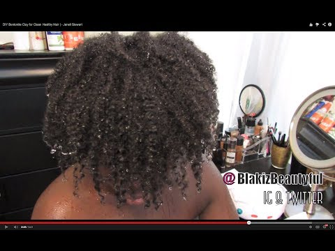 DIY Bentonite Clay for Clean Healthy Hair | - Jenell Stewart