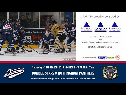 24/3/2018 - Dundee Stars V Nottingham Panthers