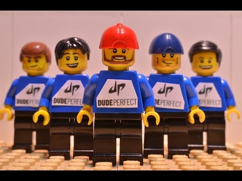 Dude Perfect in LEGO