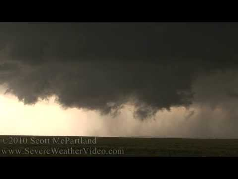 Tornado & Supercell Thunderstorm Dumas/Stinnett, TX - May 18th, 2010
