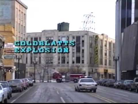 Goldblatts Explosion Hammond Indiana 1993 Youtube