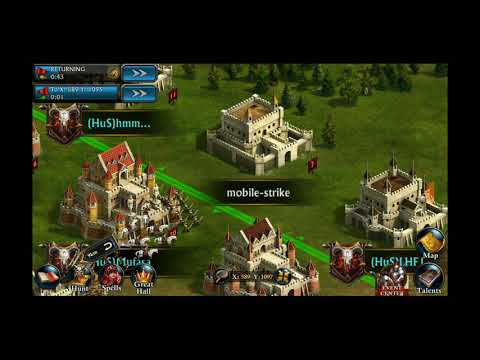 KOA kicking some mobile strike and game of war's A$$
