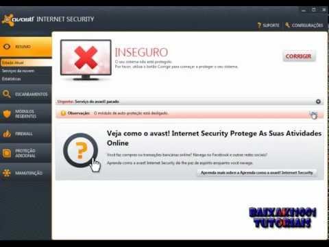 Validando Avast Internet Security Até 2050 [ATUALIZADO] 09/11/12
