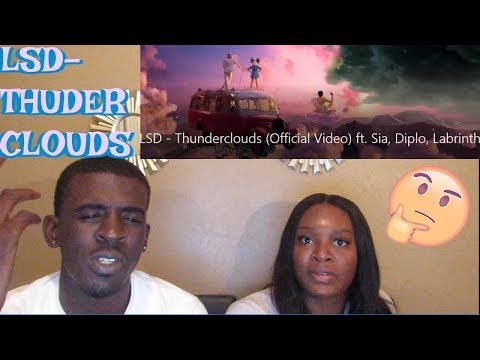Download Lagu  LSD - Thunderclouds ft. Sia, Diplo, Labrinth   REACTION Mp3 Free