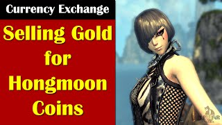 [ BLADE & SOUL ] Currency Exchange : Selling Gold for Hongmoon Coins
