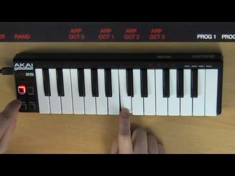 Akai LPK25 review - The DSP Project