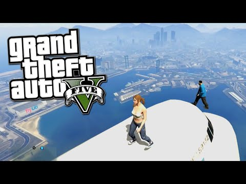 Gta 5 Online Funny Moments - Trolling Monkey, Airplane Rodeo, Funny Glitches (gta 5 Fun Jobs) video