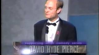 David Hyde Pierce wins 1998 Emmy Award for Supporting Actor in a Comedy Series
