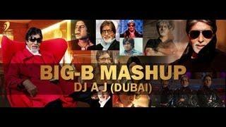 AMITABH BACHCHAN MASHUP | BIG B MASHUP | VJ GOPAL | DJ AJ