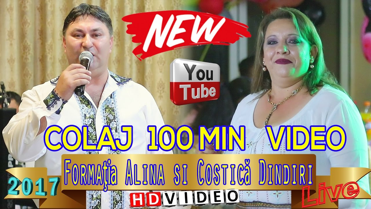 Formatia Alina si Costica Dindiri - Colaj 100min VIDEO LIVE, Cea mai noua muzica, Chef si Petrecere