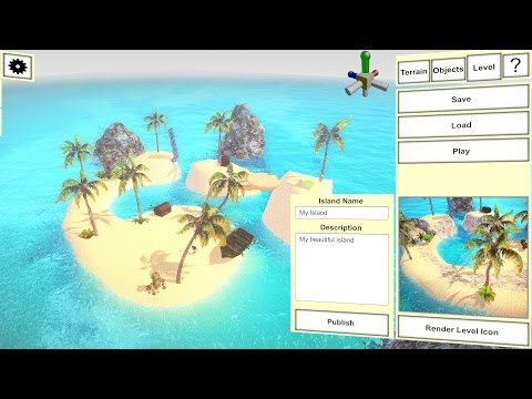 Howto create your own island in 5 minutes