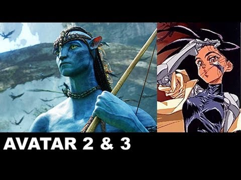 Avatar 2. Avatar 3. Battle Angel Alita - James Cameron: Beyond The Trailer