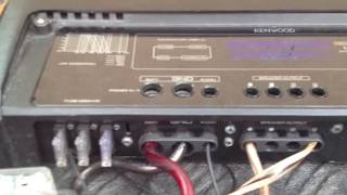 Amplifier Test KENWOOD KAC-PS1D, ALPINE TYPE R SUBS AND ALPINE IDA X300