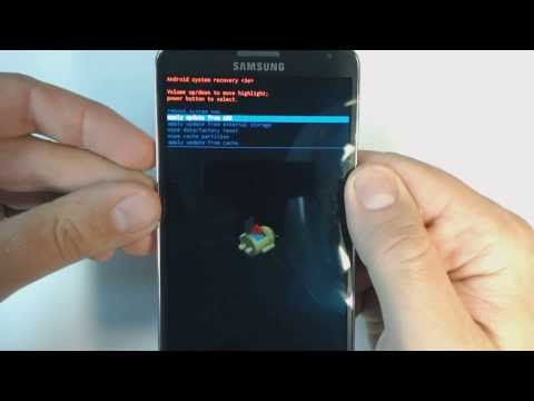 Samsung Galaxy Note 3 N9005 Hard Reset