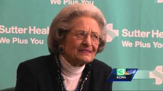 90-year-old Sutter Health employee celebrates 70 years of work
