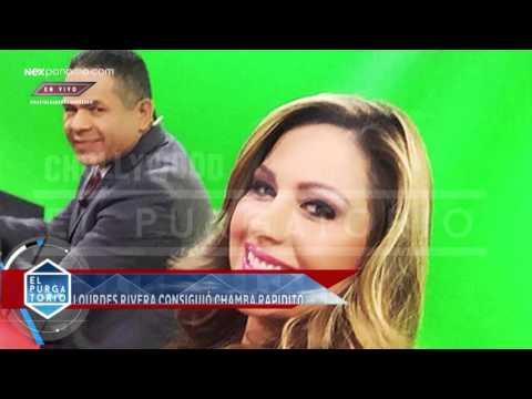 Lourdes Rivera consiguió rápido chamba