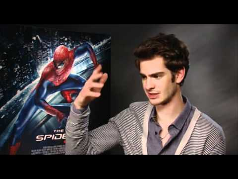 Andrew Garfield interview for The Amazing Spider-Man