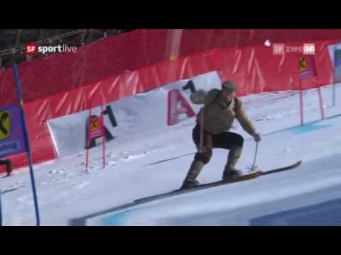 Didier Cuche's Abschiedsfahrt / Last Run (17.03.2012, SF2)