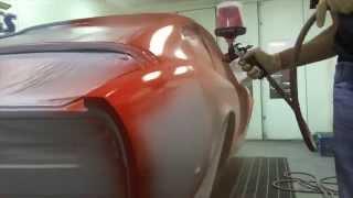 1967 Fiat Dino Auto Restoration - Paint by Custom Classics