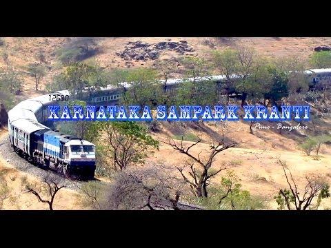 KARNATAKA SAMPARK KRANTI : Pune to Bangalore....