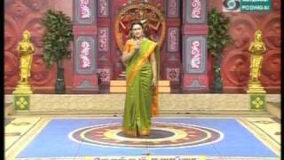 Sweta Bharatanatyam Programe on Podhigai Tv Konjum Salangai Season 3