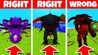 Minecraft: DO NOT CHOOSE THE WRONG CREATURE! (Spectre, Shade & Rahovart)