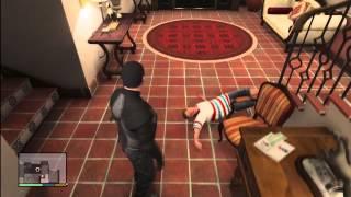 Grand Theft Auto 5 - Rare Mission Michael KILL's Jimmy & Amanda Easter egg? GTA V