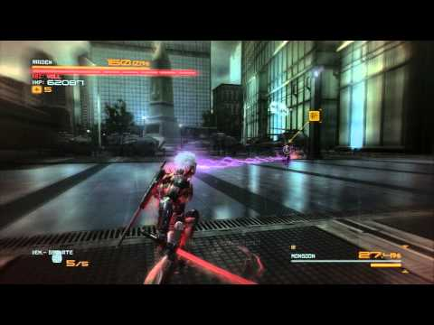 Monsoon - S Rank / No Damage - Revengeance Difficulty [Metal Gear Rising/PS3]