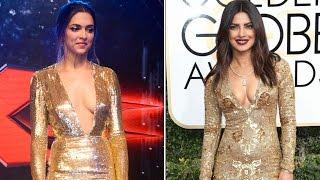 Deepika Padukone COPIES Priyanka Chopra's WARDROBE for XXX Return of Xander Cage Premiere