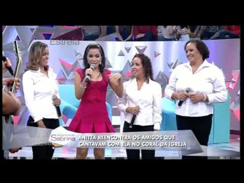 Anitta no Programa da Sabrina - 26/04/2014