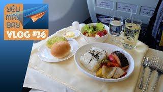 VLOG #36: Trải nghiêm hạng thương gia China Airlines | Yêu Máy Bay
