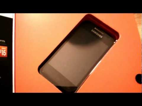 Samsung Galaxy Rush Unboxing (Boost Mobile)