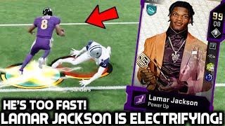 MVP LAMAR JACKSON IS A MADDEN CHEAT CODE! HE'S TOO FAST! Madden 20 Ultimate Team